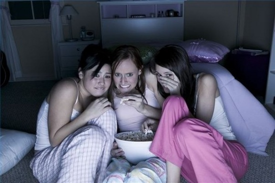 The top 10 things to do at a sleepover