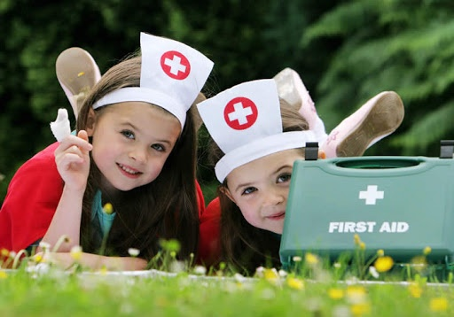 First aid should be taught to kids from a young age. They'll thank you for it later.