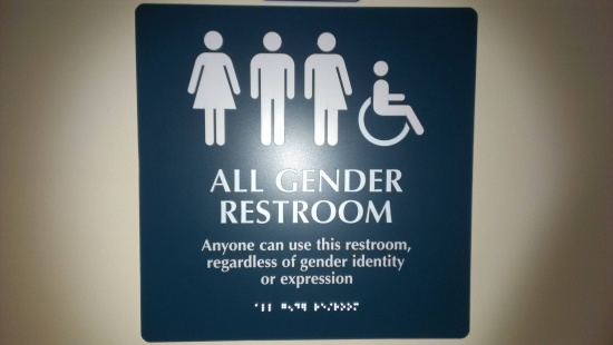 20 funny bathroom signs 4 is a lawsuit waiting to - Transgender discrimination bathroom ...