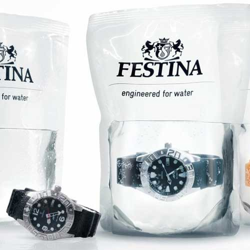 Festina Diving Watches Packaging