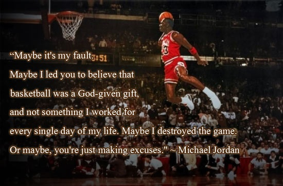 MICHAEL JORD 20 Inspirational Basketball Quotes To Bring The Bounce Back
