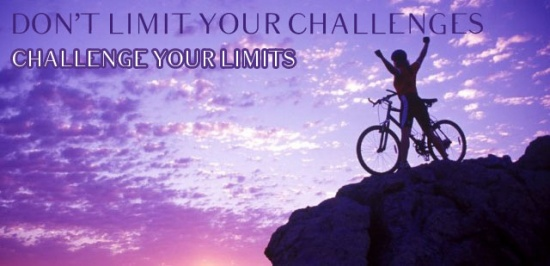 Image result for don't limit your challenges