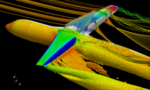 NASTRAN being used for aerospace design