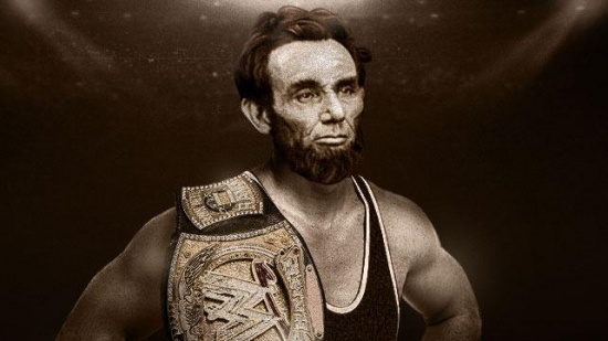 Lincoln was known as a skilled wrestler.