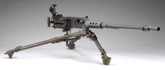 M2HB 50-Caliber Machine Gun
