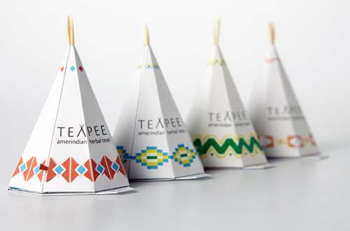 Teapee Packaging Design