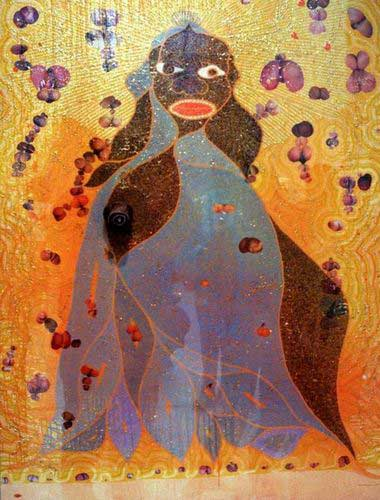 The Holy Virgin Mary by Chris Ofili