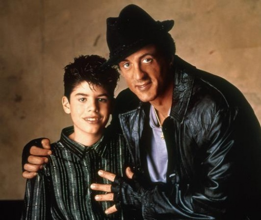 Sylvester Stallone and son