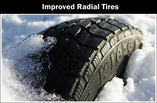Improved radial tires