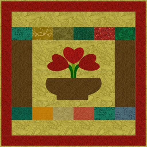 Meet the Hearts Bouquet Quilt