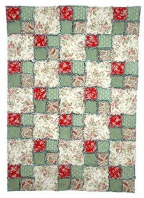 Four-Patch Rag Quilt Pattern