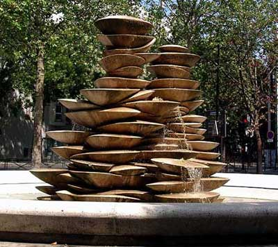 Fountain Polypores, Paris
