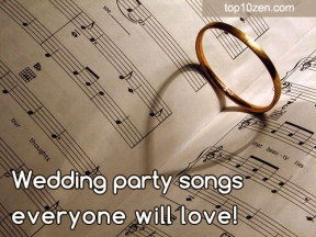 wedding reception entrance songs